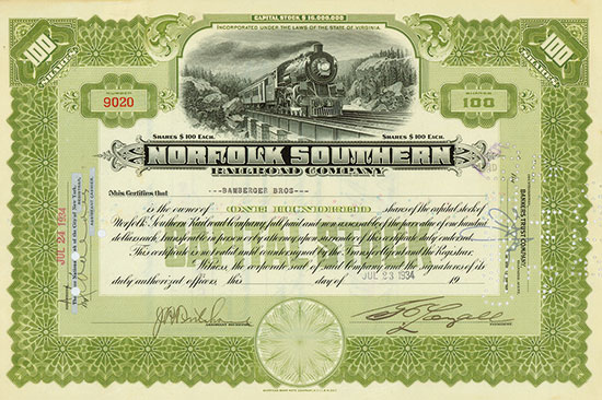 Norfolk Southern Railroad Company