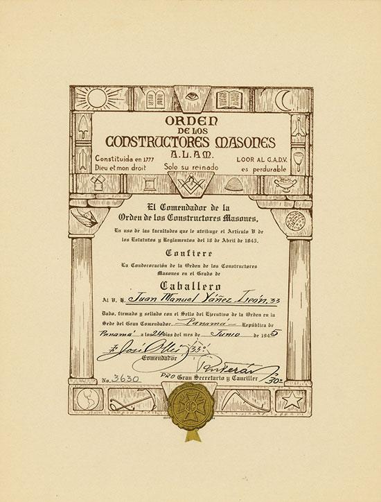Orden de Los Constructores Masones A. L. A. M.