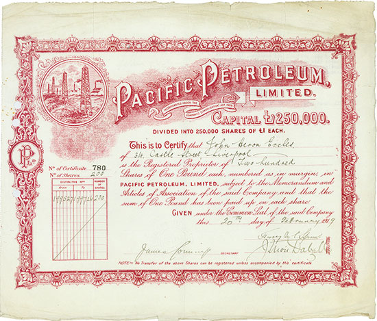 Pacific Petroleum, Limited