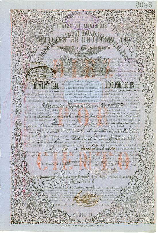 Republica Mexicana [3 Stück]