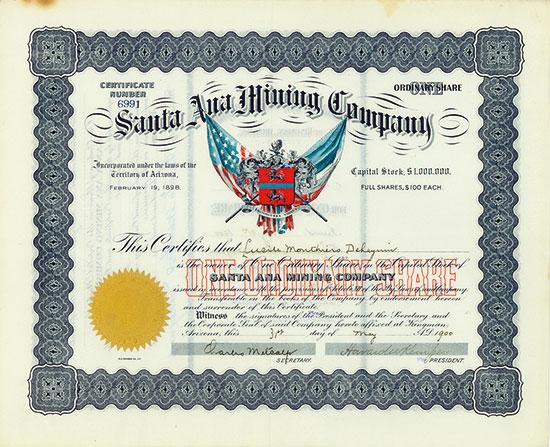 Santa Ana Mining Company