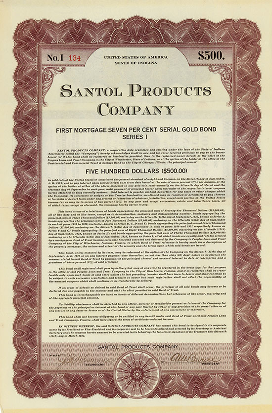 Santol Products Company