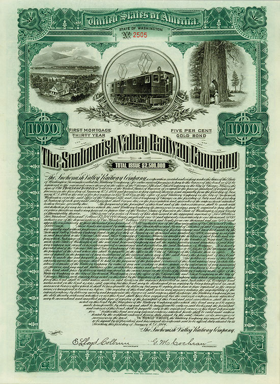 Snohomish Valley Railway Company
