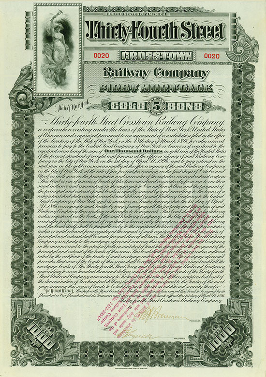 Thirty-Fourth Street Crosstown Railway Company