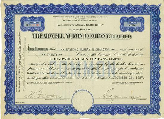 Treadwell Yukon Company, Limited