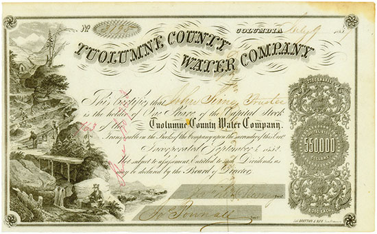 Tuolumne County Water Company