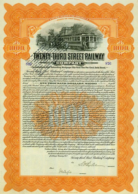 Twenty-Third Street Railway Company