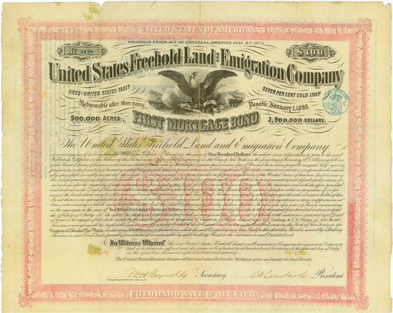 United States Freehold Land and Emigration Company