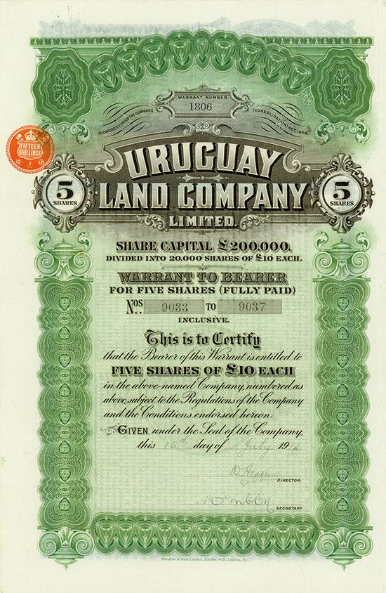 Uruguay Land Company Limited