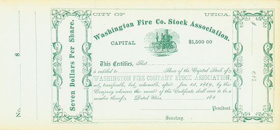 Washington Fire Co. Stock Association