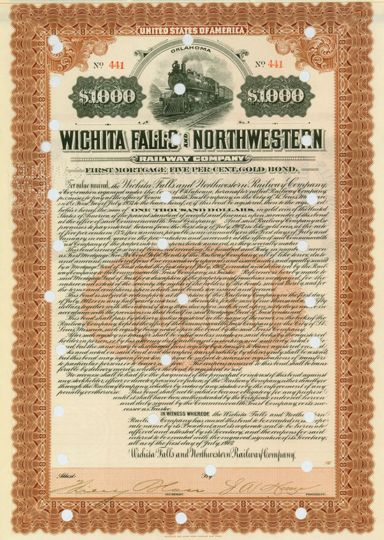 Wichita Falls and Northwestern Railway Company