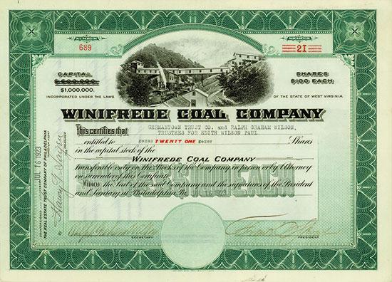 Winifrede Coal Company