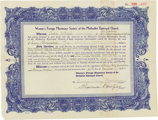Woman's Foreign Missionary Society of the Methodist Episcopal Church