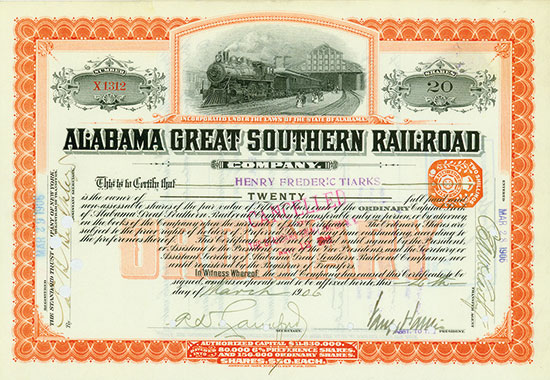 Alabama Great Southern Railroad Company