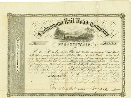 Lackawanna Rail Road Company