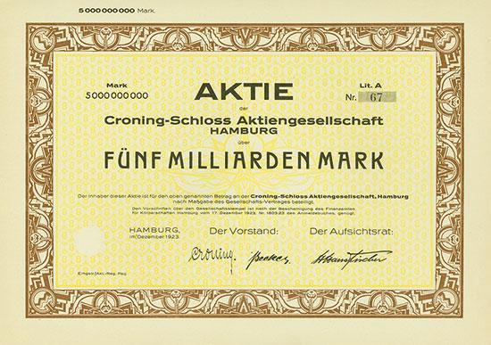 Croning-Schloss AG [10 Stück]