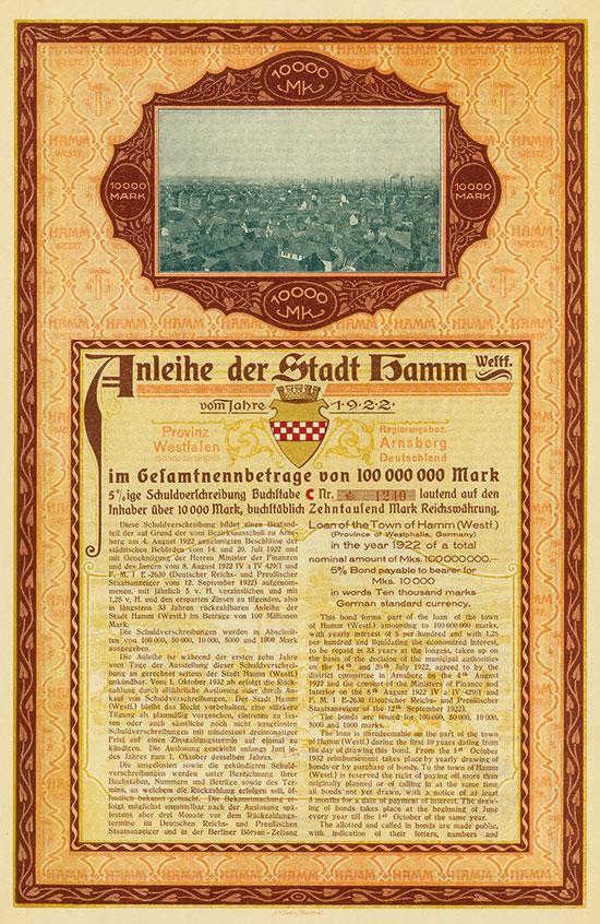 Deutsche Stadtanleihen [3 Stück]