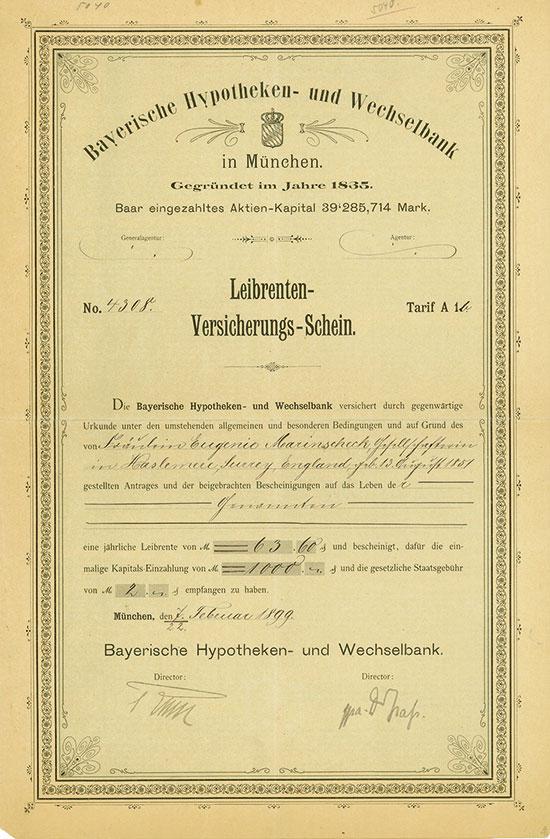 Bayerische Hypotheken- und Wechselbank