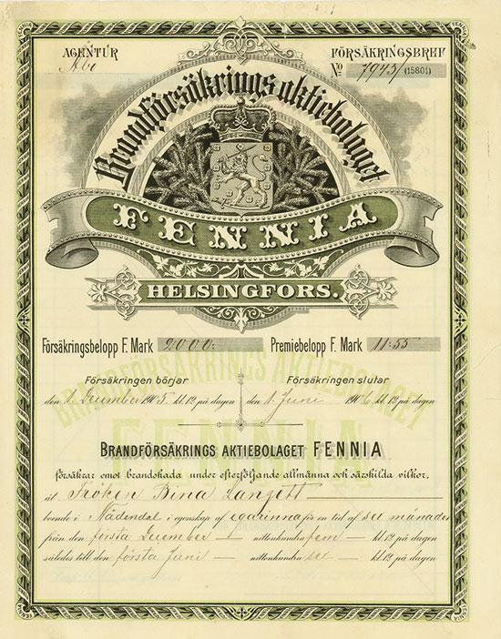 Brandförsäkrings Aktiebolaget FENNIA
