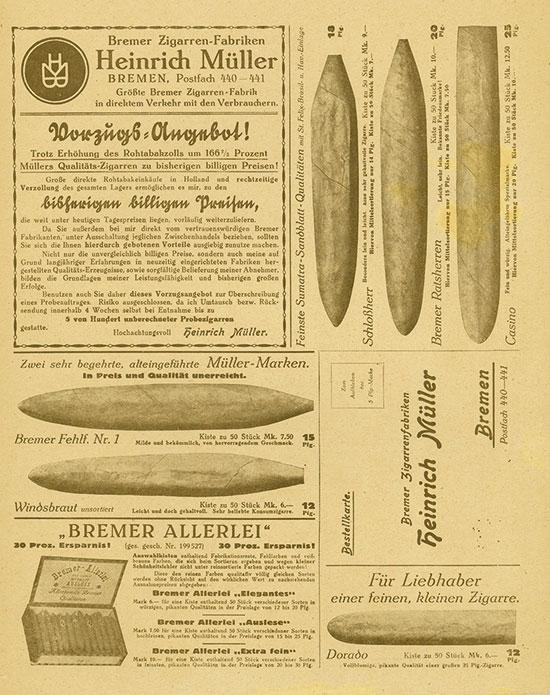 Bremer Zigarrenfabriken Heinrich Müller