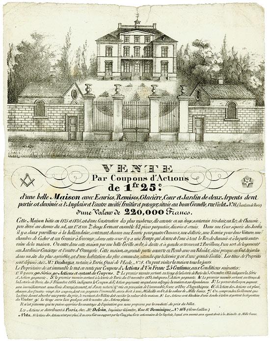 Maison avec Euries, Remises, Glacière, Cour et Jardin de deux Arpents [17 Stück]