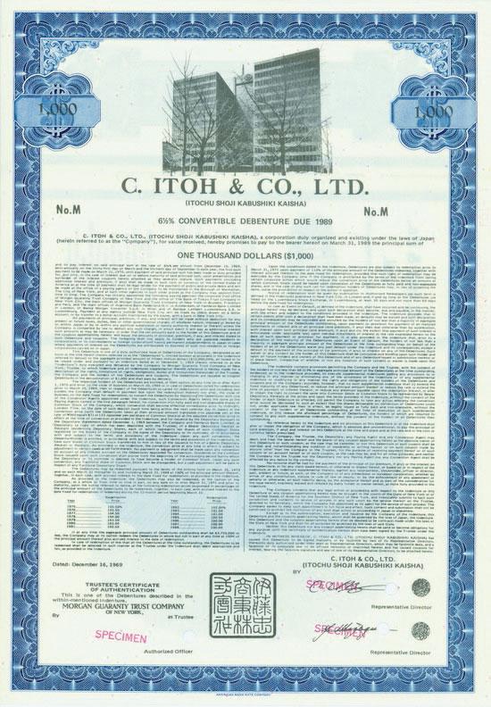 C. Itoh & Co., Ltd. (Itochu Shoji Kabushiki Kaisha)