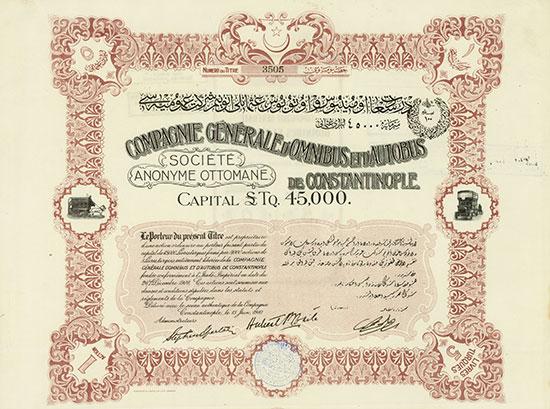 Compagnie Générale d'Omnibus et d'Autobus de Constantinople