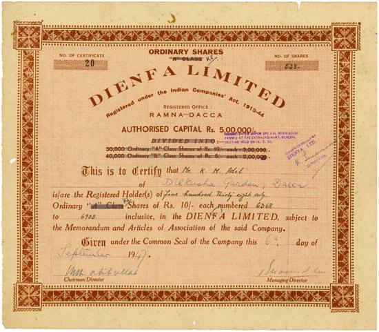 Dienfa Limited