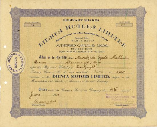 Dienfa Motors Limited