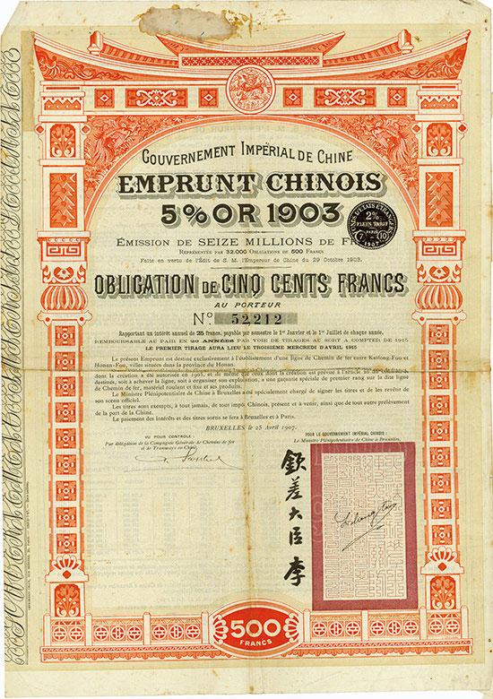 Gouvernement Impérial de Chine