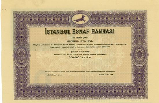 Istanbul Esnaf Bankasi