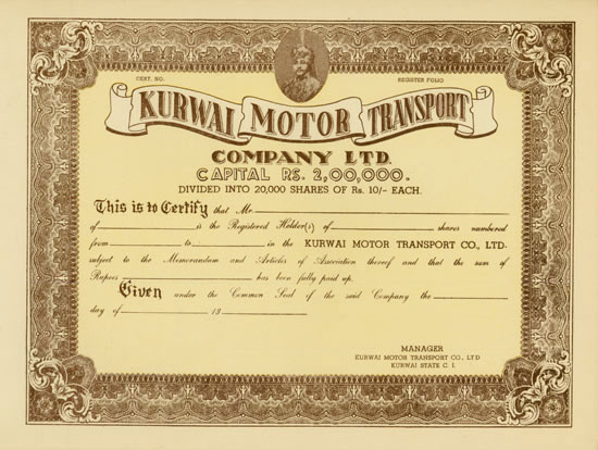 Kurwai Motor Transport Company Ltd.