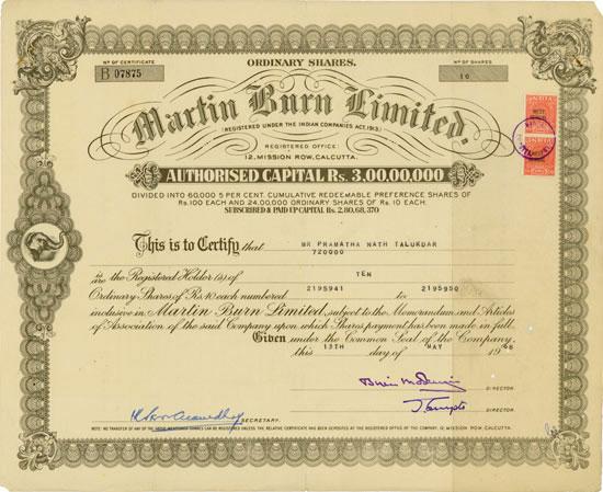 Martin Burn Limited
