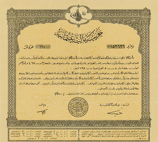 Ministre des Finances de l'Empire Ottoman 1888