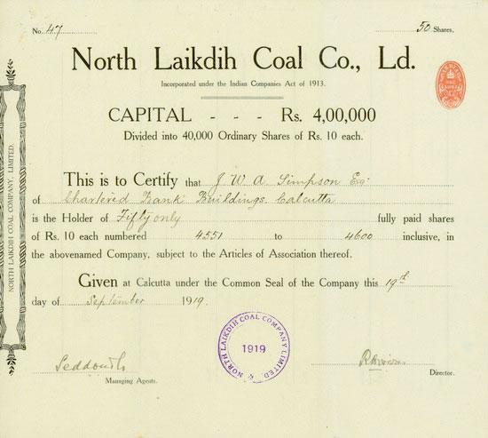 North Laikdih Coal Co., Ld.