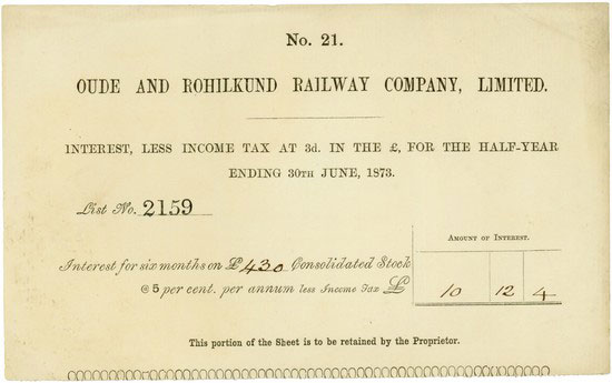 Oude and Rohilkund Railway Company, Limited