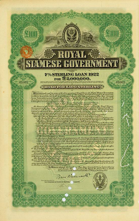Royal Siamese Government