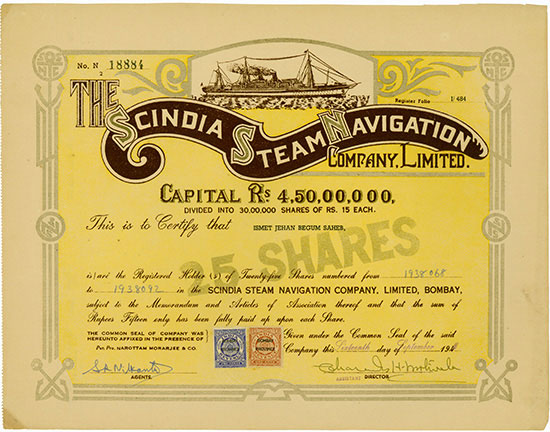Scindia Steam Navigation Company, Limited