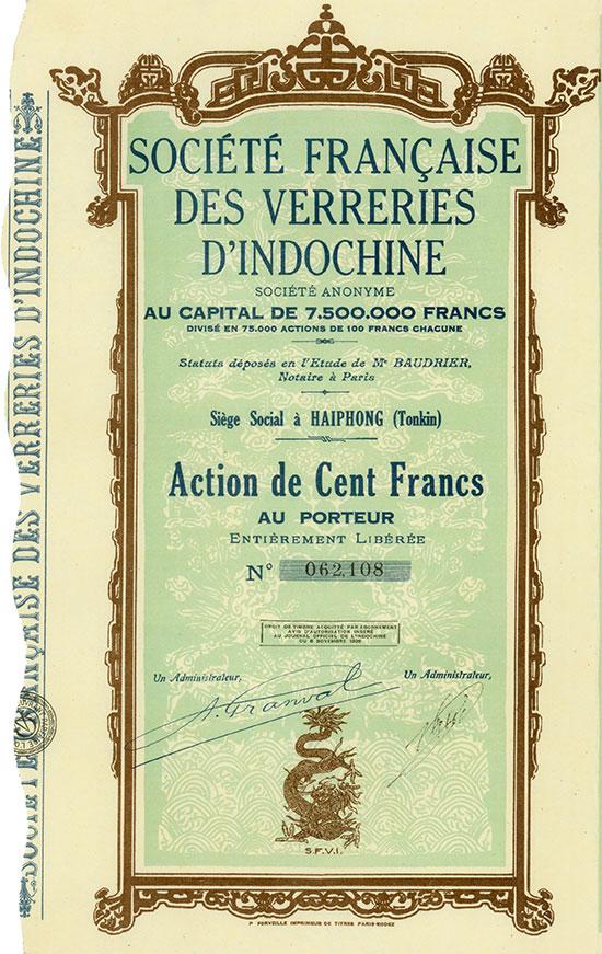 Société Française des Verreries d'Indochine