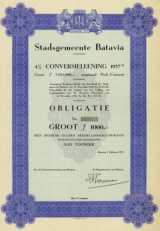 Stadsgemeente Batavia