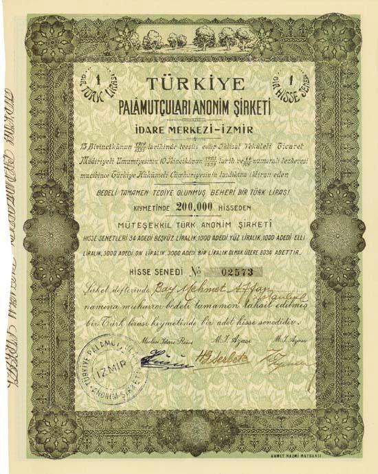 Türkiye Palamutculari Anonim Sirketi