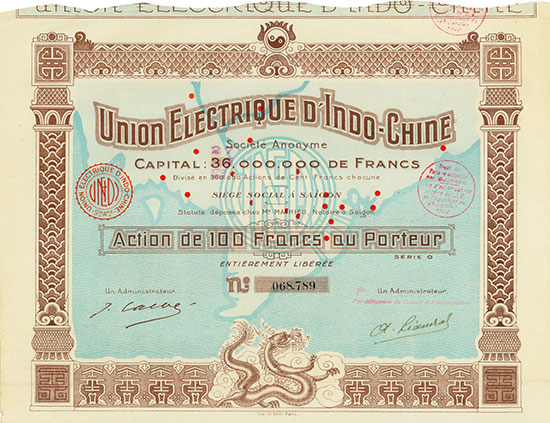 Union Electrique d'Indo-Chine Société Anonyme