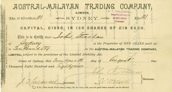 Austral-Malayan Trading Company Limited
