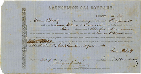 Launceston Gas Company