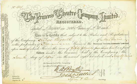 Princess Theatre Company Limited