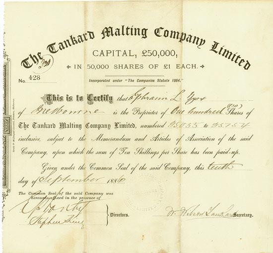 Tankard Malting Company Limited