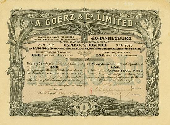 A. Goerz & Co. Limited