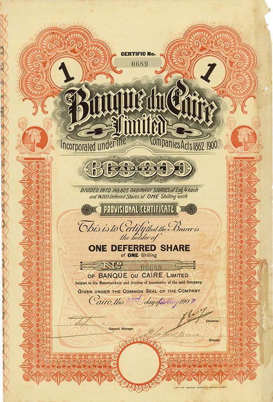 Banque du Caire Limited