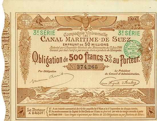 Compagnie Universelle du Canal Maritime de Suez