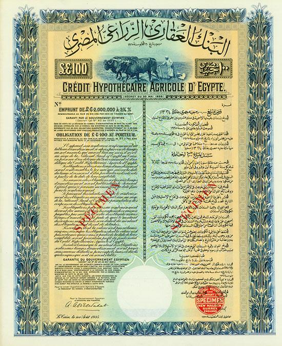 Crédit Hypothecaire Agricole d'Egypte